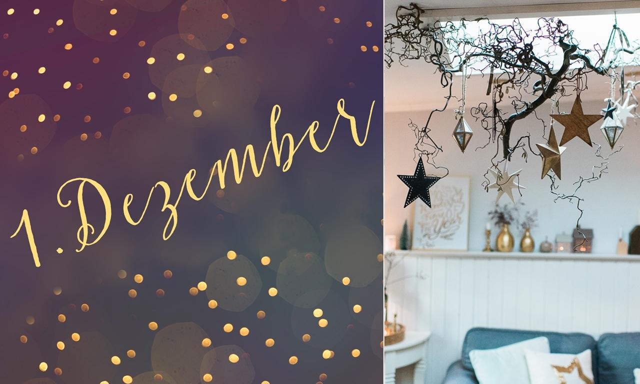 "1. Dezember – DIY ""Sternenhimmel"""