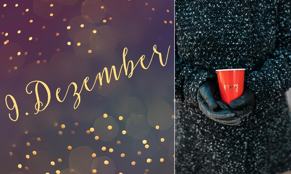 9. Dezember – Weihnachtsgeschirr to go und Verlosung