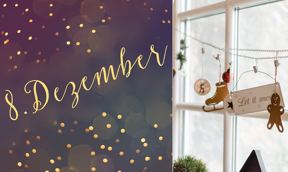 8. Dezember – Adventküchenfenster ~ Dekoidee