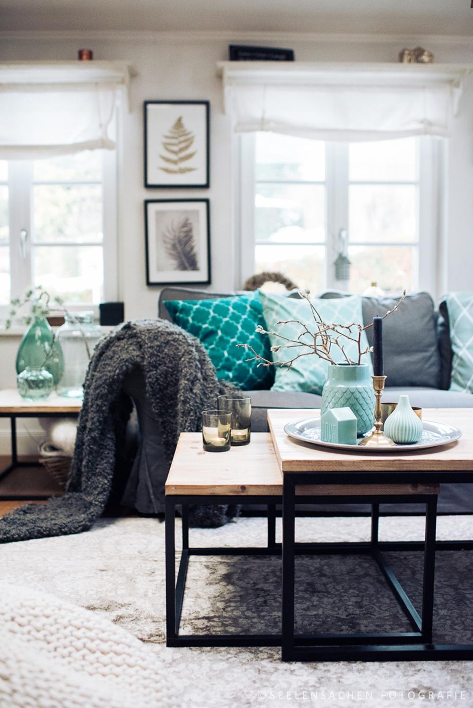 Frische Farben: das Wohnzimmer im Jänner – Seelensachen