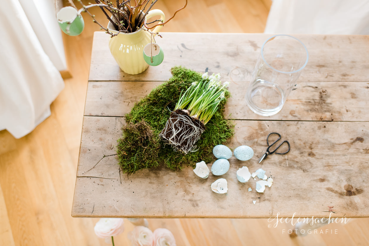 Frühjahrsspecial: It`s green! DIY für den Frühlingstisch