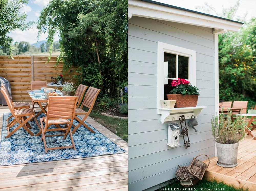 sommerspecial ab in den garten terrasse gartenh tte outdoorteppich ein sommerrezept. Black Bedroom Furniture Sets. Home Design Ideas