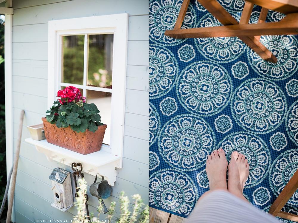 Sommerspecial: Ab in den Garten! ~ Terrasse, Gartenhütte, Outdoorteppich & ein Sommerrezept!
