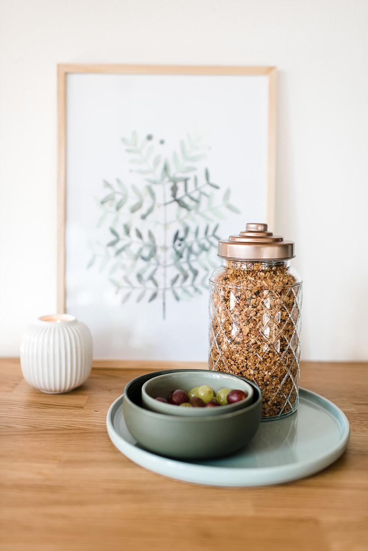 Hausgemachtes Kokos-Granola