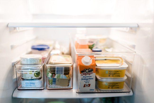 Kleiner Kühlschrank Ordnung : Kühlschrankmakeover oder: ordnung ist das halbe leben! u2013 seelensachen