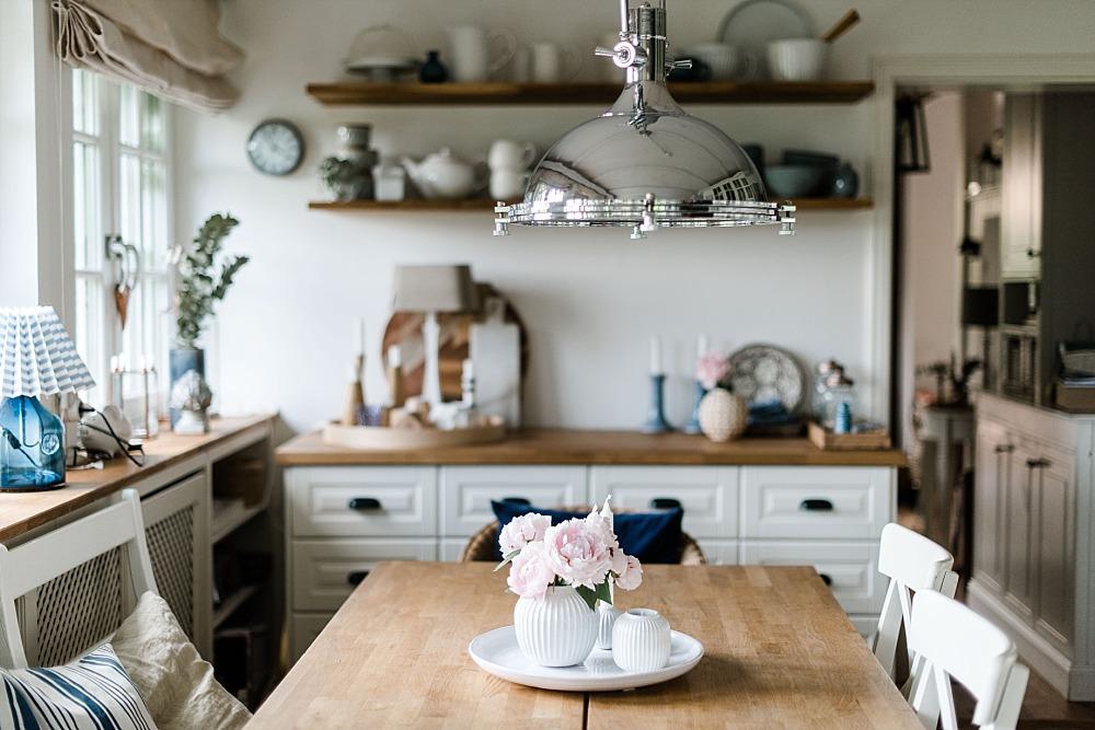Holunderblütensaft Rezept und ein sommerliches Küchen Update