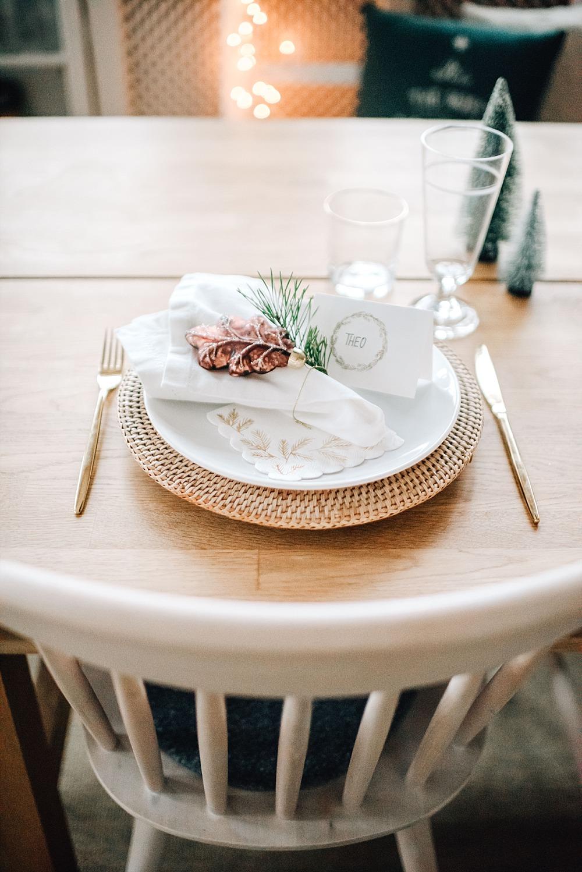 17. Dezember ~ Eine weihnachtliche Tischdeko-Idee