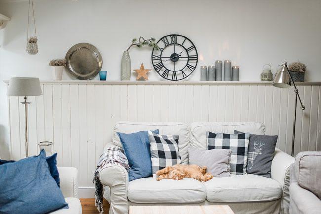 Das Seelensachenwohnzimmer im Jänner im Farmhouse Stil – Seelensachen