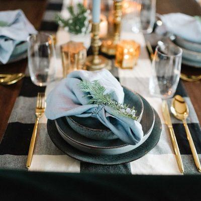 20. Dezember ~ Festliche Tischdeko für die Weihnachtstage
