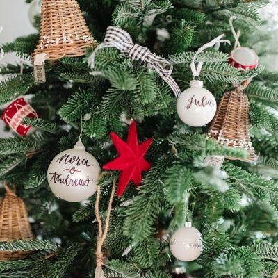 24. Dezember ~ Unser Christbaum und Weihnachtswünsche