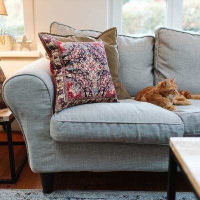 Das winterliche Wohnzimmer… und Gedanken zum neuen Jahr