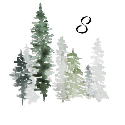 8. Dezember – Winterdeko ist ja auch weihnachtlich, oder?